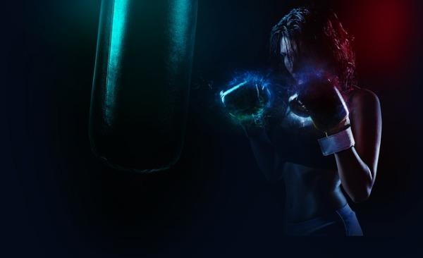 Boxeuse gants