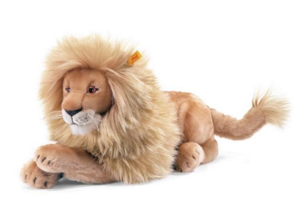 grande peluche lion realiste steiff