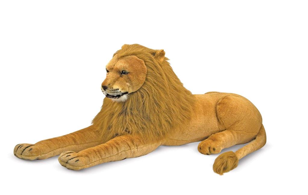 plus grande peluche lion melissa & doug
