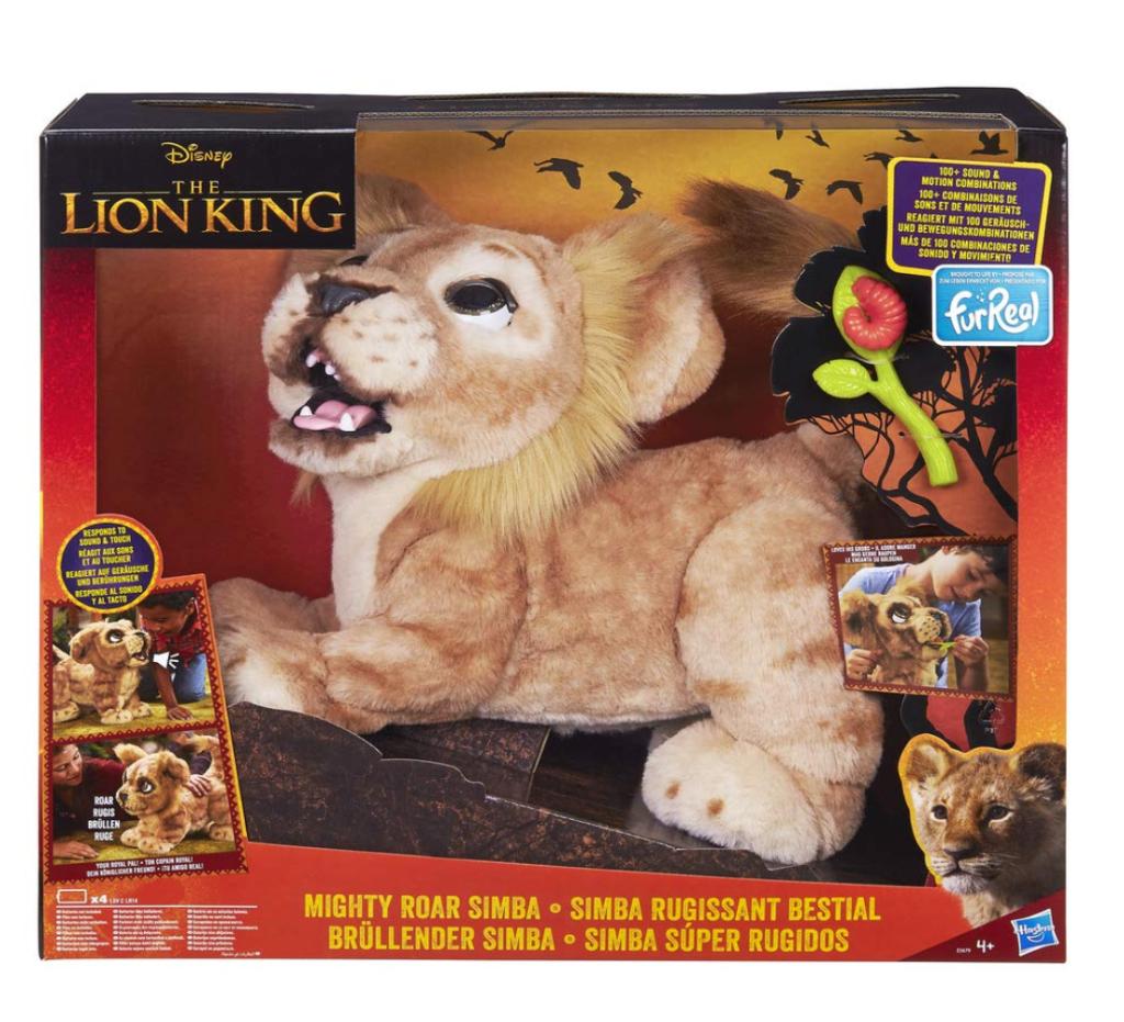 peluche lion simba le roi lion