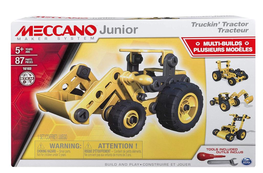 Meccano-junior-tracteur