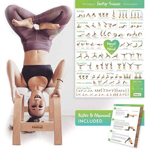 feetup trainer yoga