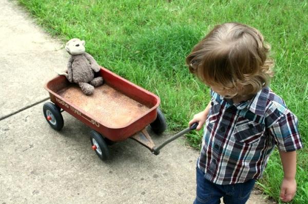 chariot wagon enfant