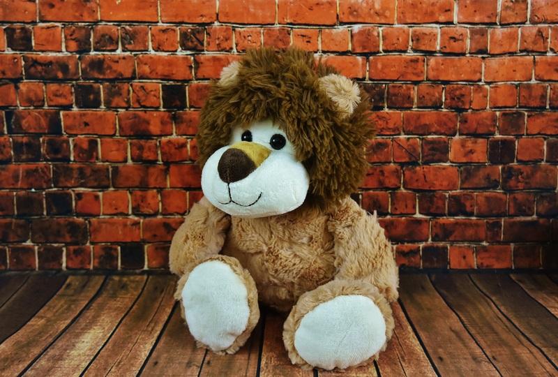 belle grande peluche lion
